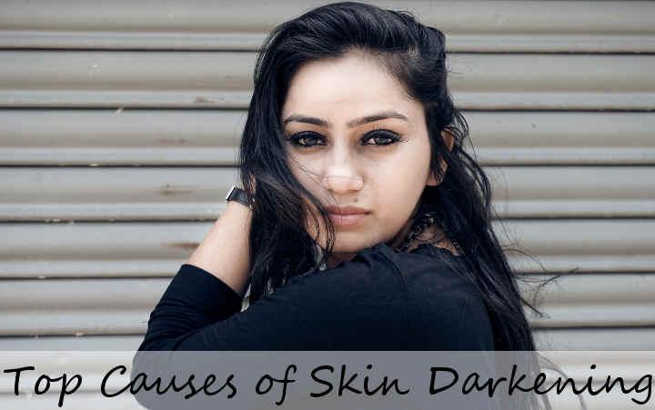 skin darkening